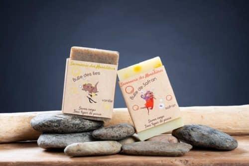 Pack Loutre Epicée 2 Savons vanille et safran 1
