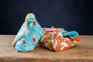 Pochette en tissu pour savon -Objectif zéro déchet